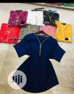 Colourful Top With a Front Zipper | Clothing for sale in Lagos State, Ajah