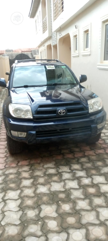 Archive Toyota 4 Runner 2005 Limited V6 4x4 Blue In Ifo Cars David Ebuka Jiji Ng