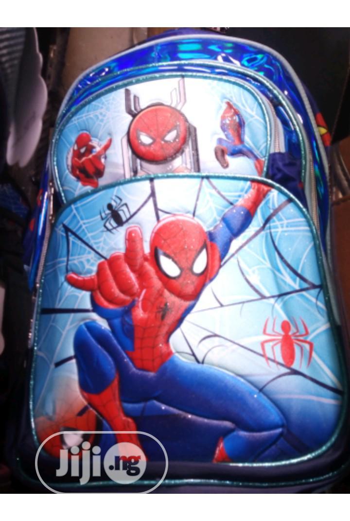 Archive: Kids Spiderman Bag
