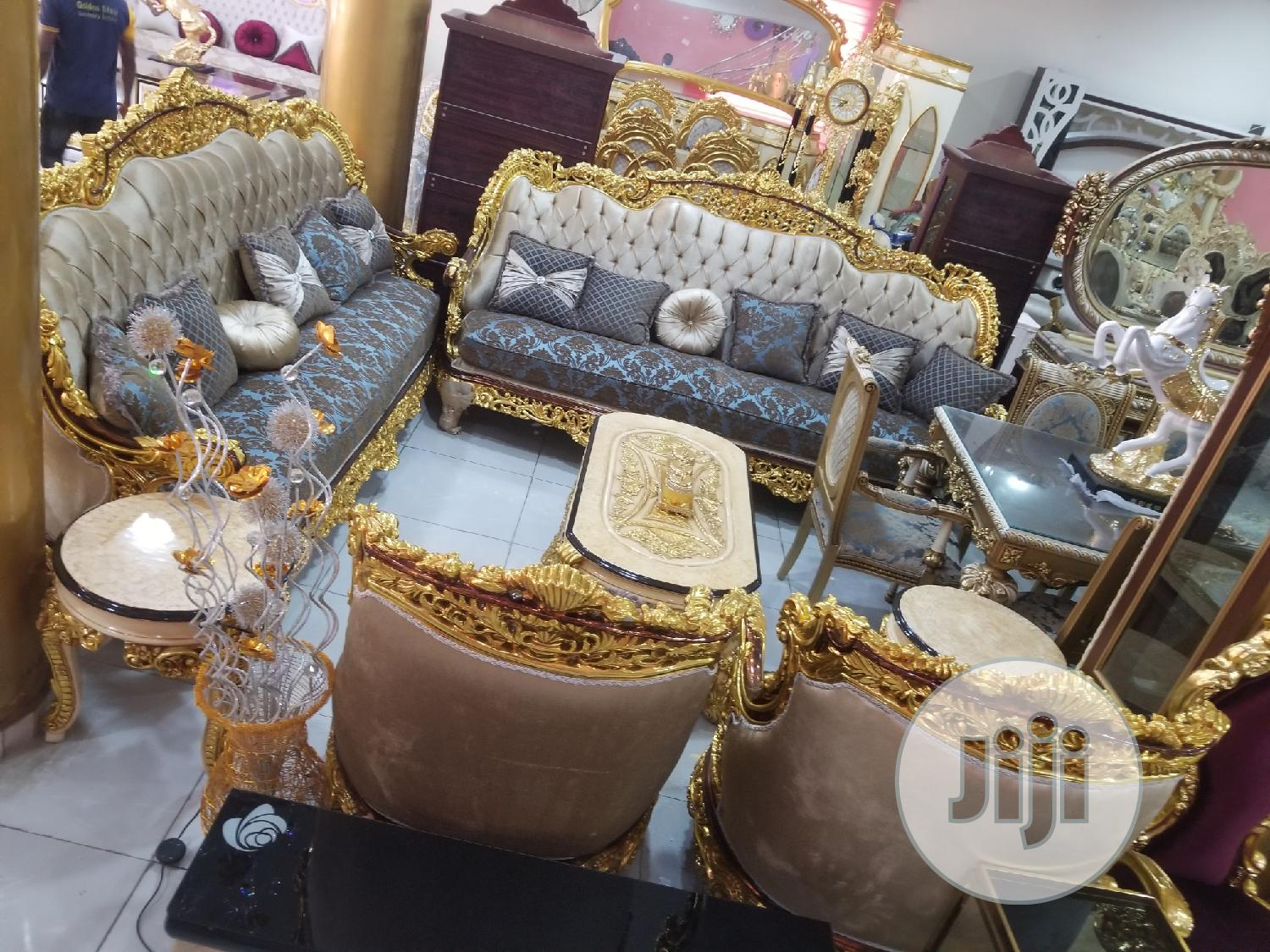 Executive Royal Fabric Sofa Chair Guaranteed Product | Furniture for sale in Ajah, Lagos State, Nigeria
