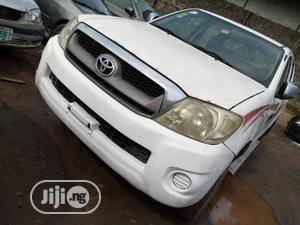 Toyota Hilux 2010 White | Cars for sale in Lagos State, Oshodi
