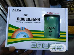 Alfa AWUS036NH USB Wi-Fi Adapter | Networking Products for sale in Lagos State, Ikeja