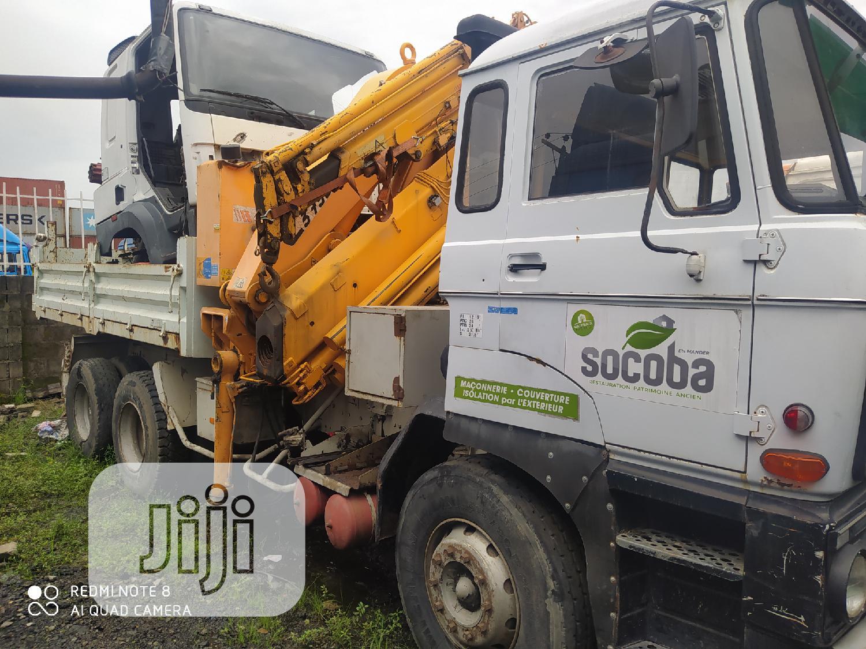 European Used DAF 2800 14.2tons Capma Crane Dump Truck   Trucks & Trailers for sale in Amuwo-Odofin, Lagos State, Nigeria