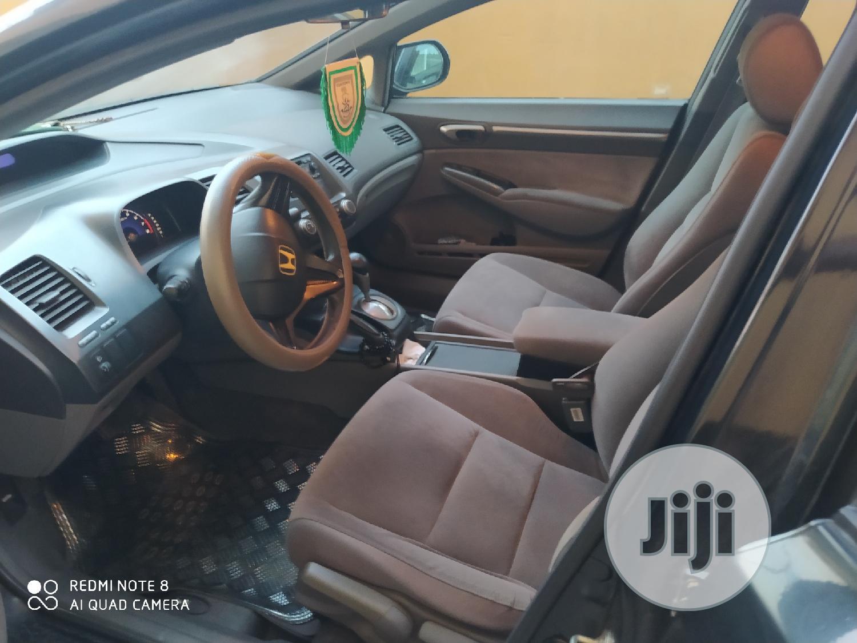 Honda Civic 2008 1.8i-VTEC VXi Automatic Black | Cars for sale in Oshodi, Lagos State, Nigeria