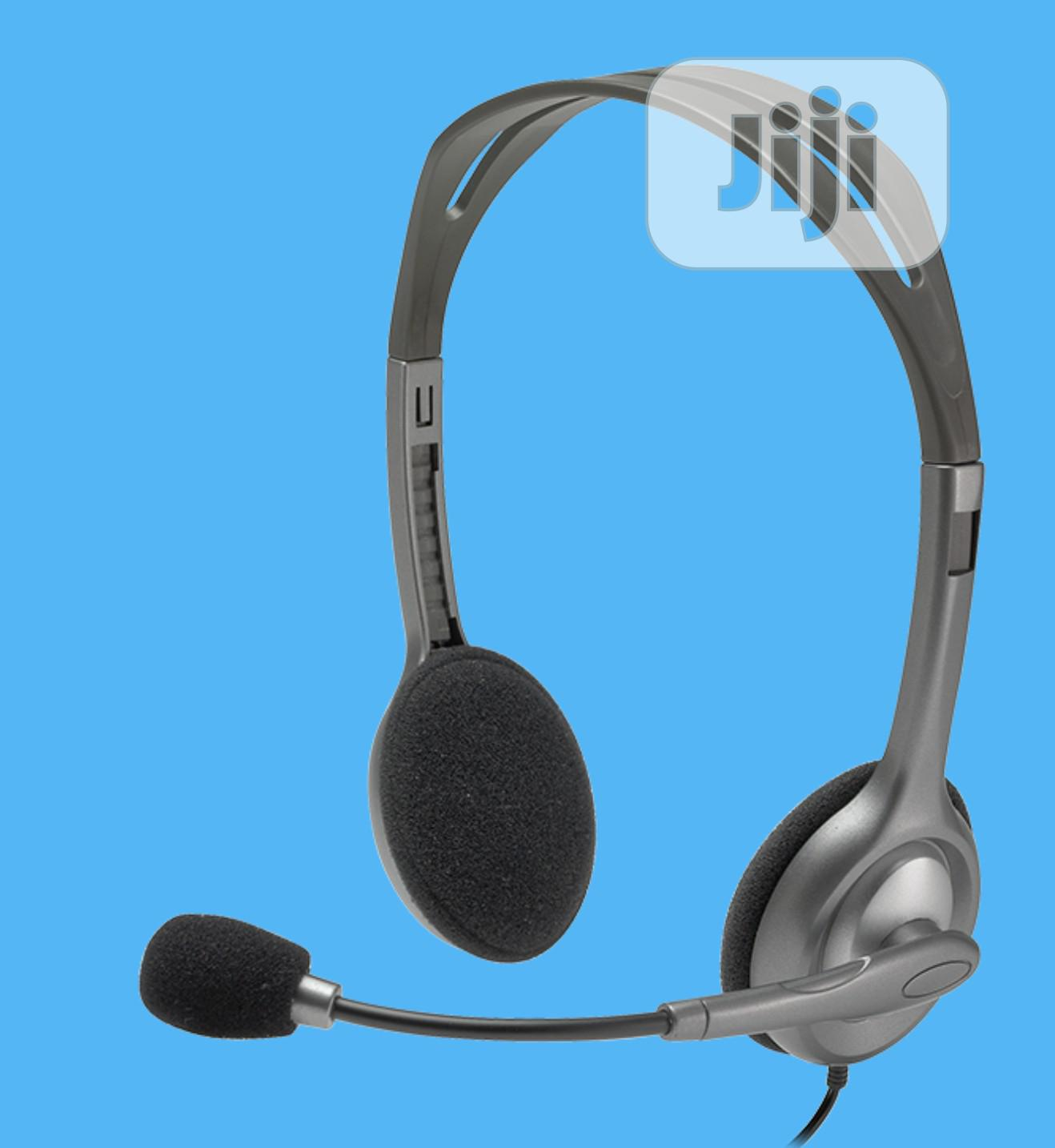 Archive: Logitech H110 Stereo Headset With Noise-cancelling