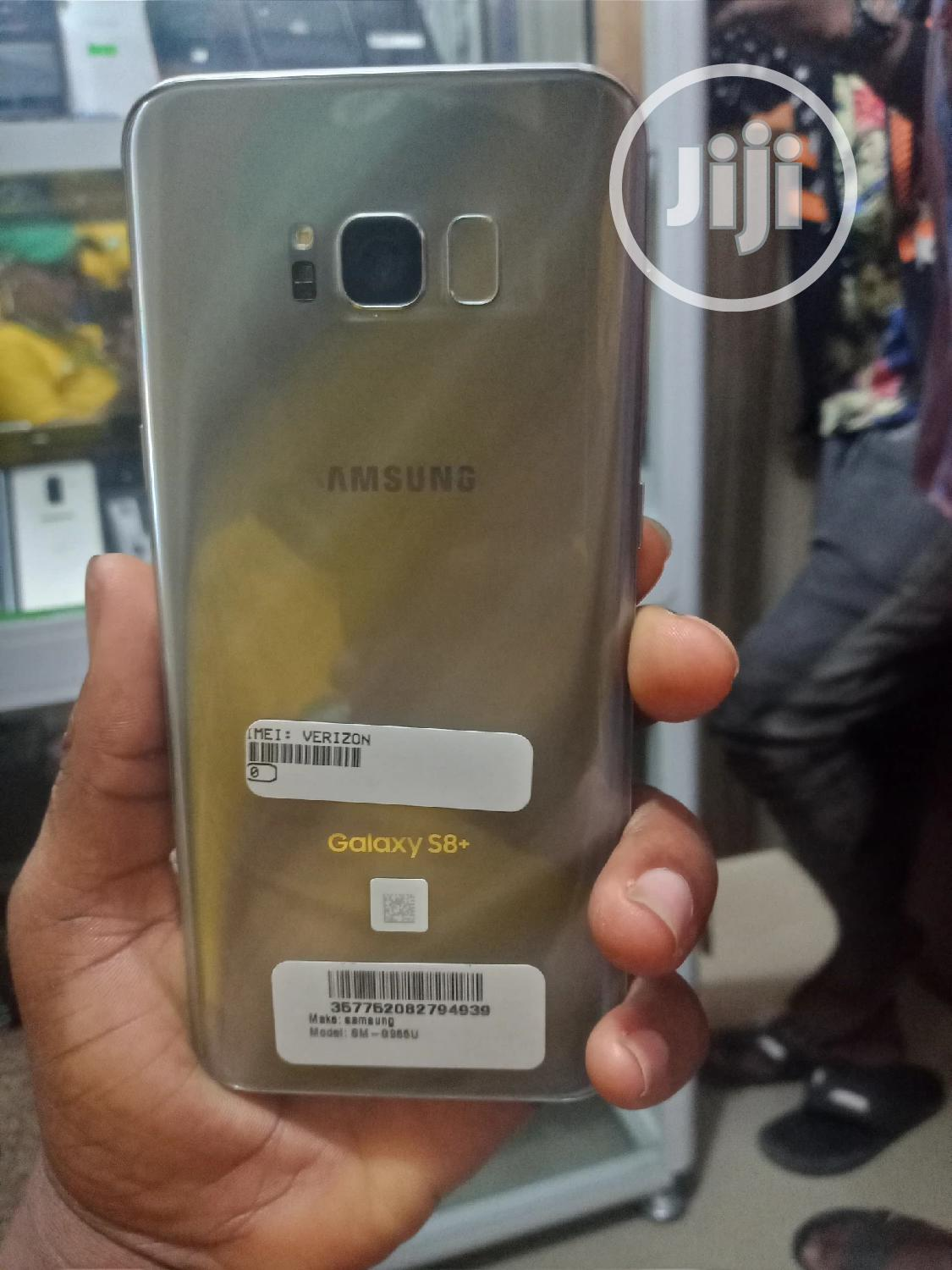 Samsung Galaxy S8 Plus 64 GB Gold   Mobile Phones for sale in Ikeja, Lagos State, Nigeria