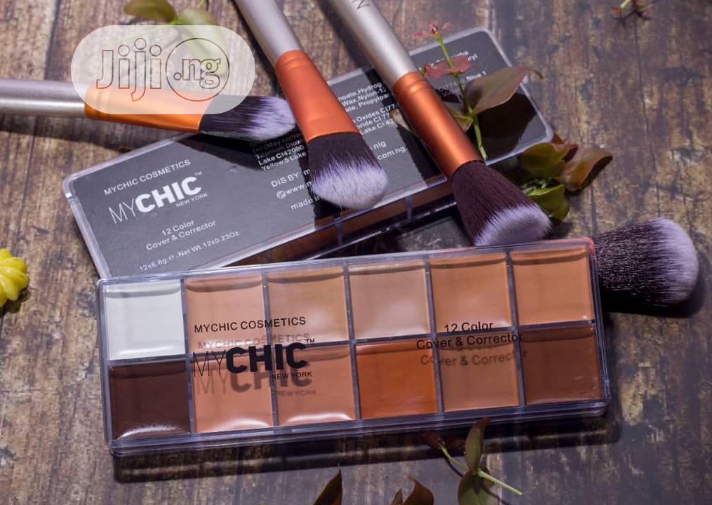 Mychic 12in1 Concealer Pallet | Makeup for sale in Amuwo-Odofin, Lagos State, Nigeria