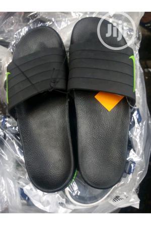 Black Nike Jelly Slippers Slide | Shoes for sale in Lagos State, Lagos Island (Eko)