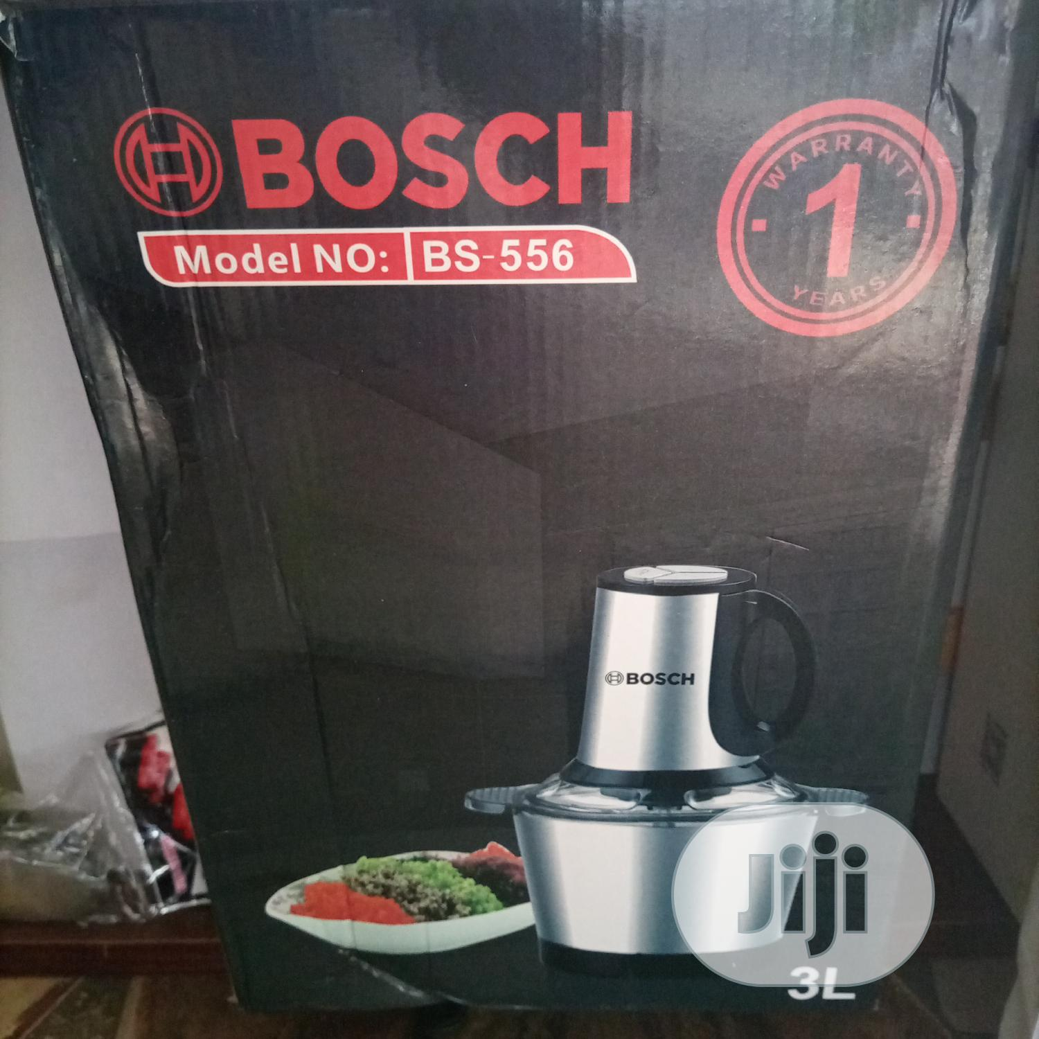 Bosch 3 Litres Electric Stainless Steel Bowl Food Processor