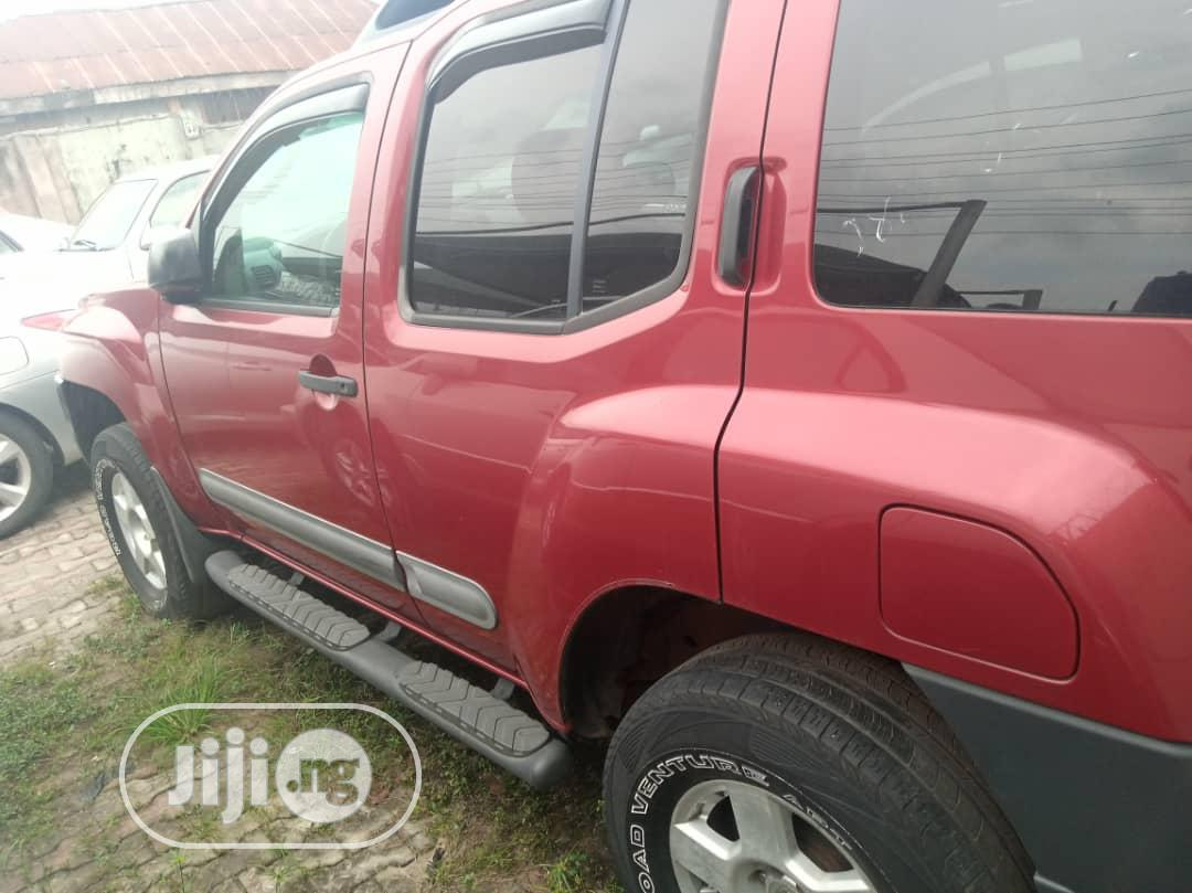 Nissan Xterra 2005 Automatic Red | Cars for sale in Ikorodu, Lagos State, Nigeria