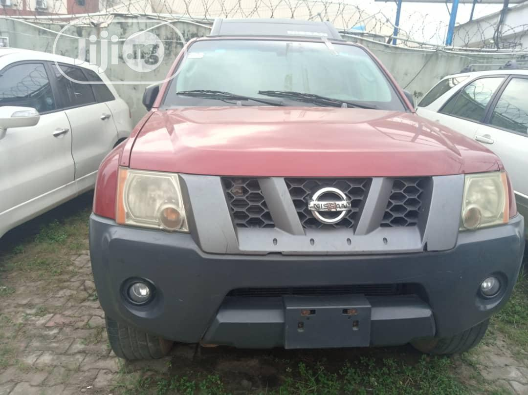 Nissan Xterra 2005 Automatic Red