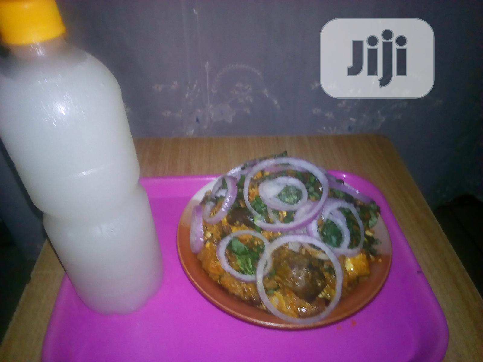 Archive: Delicious Home Made Isi Ewu With Sweet Undiluted Palm Wine