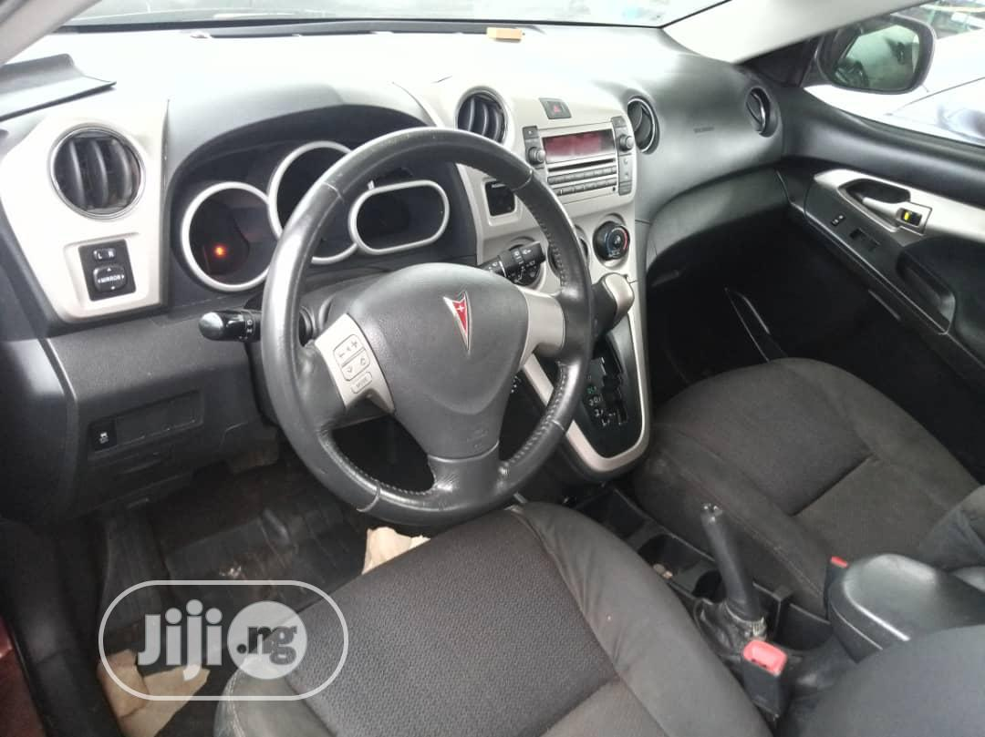 Pontiac Vibe 2009 2.4 4WD Red | Cars for sale in Ikorodu, Lagos State, Nigeria