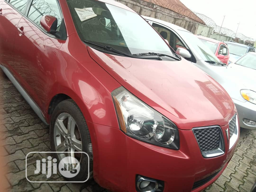 Pontiac Vibe 2009 2.4 4WD Red
