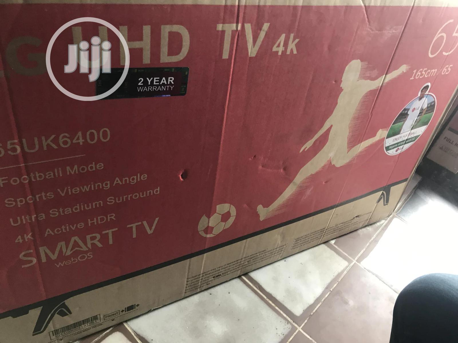 Brand New LG Smart Uhd TV 65iches | TV & DVD Equipment for sale in Port-Harcourt, Rivers State, Nigeria