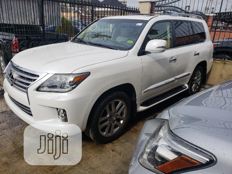 Archive: Lexus LX 2015 570 Base White