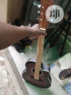 Hamson Professional Semi Acoustic Guitar | Musical Instruments & Gear for sale in Lagos State, Ikeja