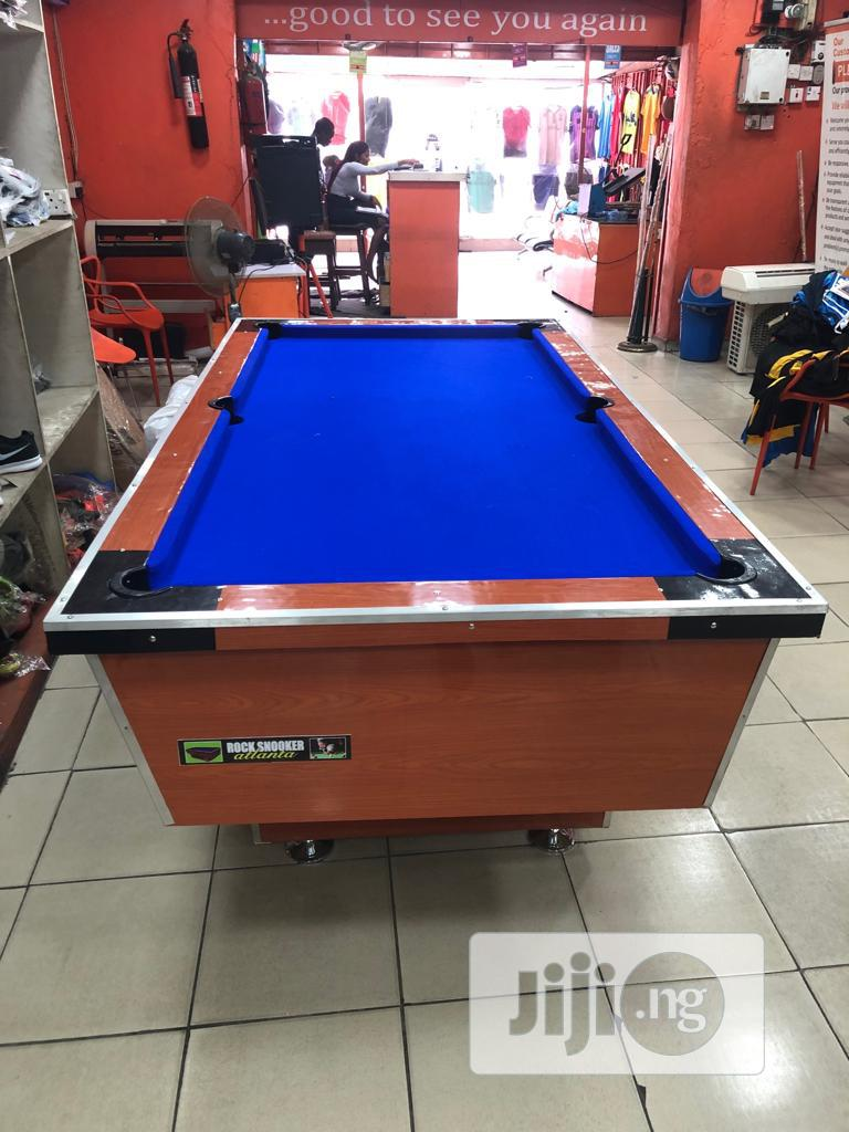 Local Snooker Board With Complete Accessories