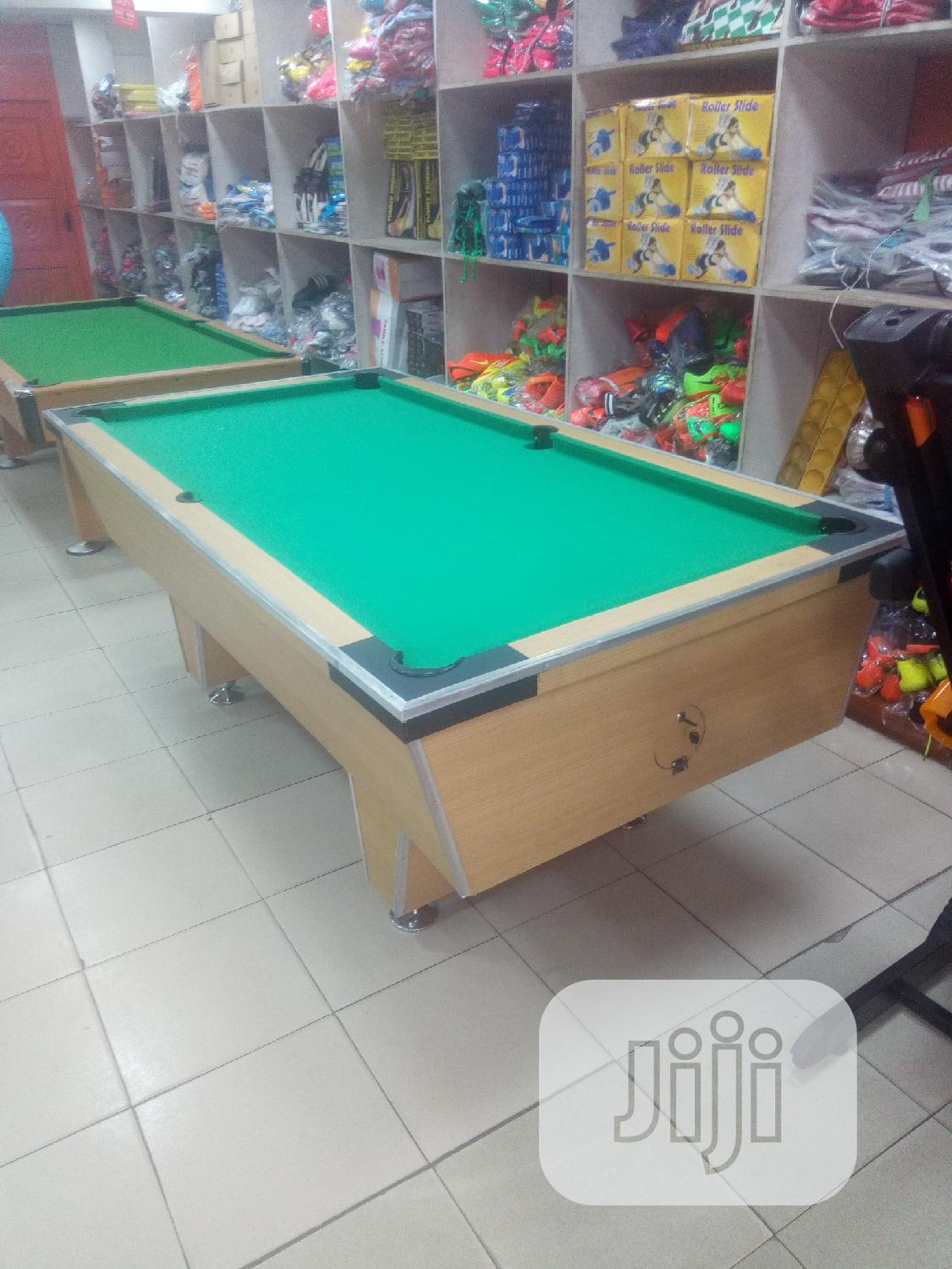 Local Snooker Board With Complete Accessories | Sports Equipment for sale in Surulere, Lagos State, Nigeria