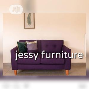 2 Seater Fabric Sofa Absolutely Comfortable And Stylish | Furniture for sale in Lagos State, Ogba