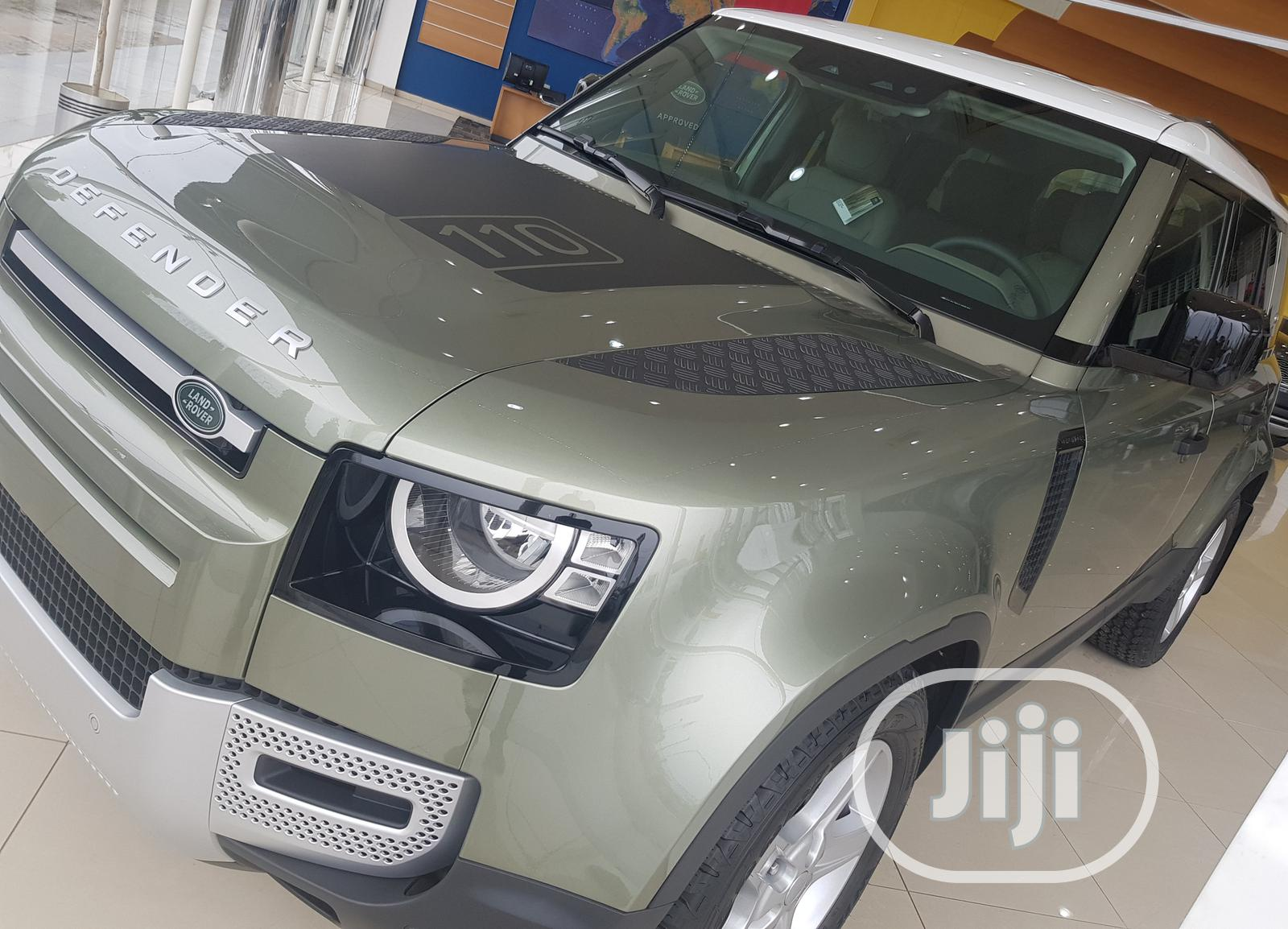 Archive: New Land Rover Defender 2020 110 X 4x4 Green