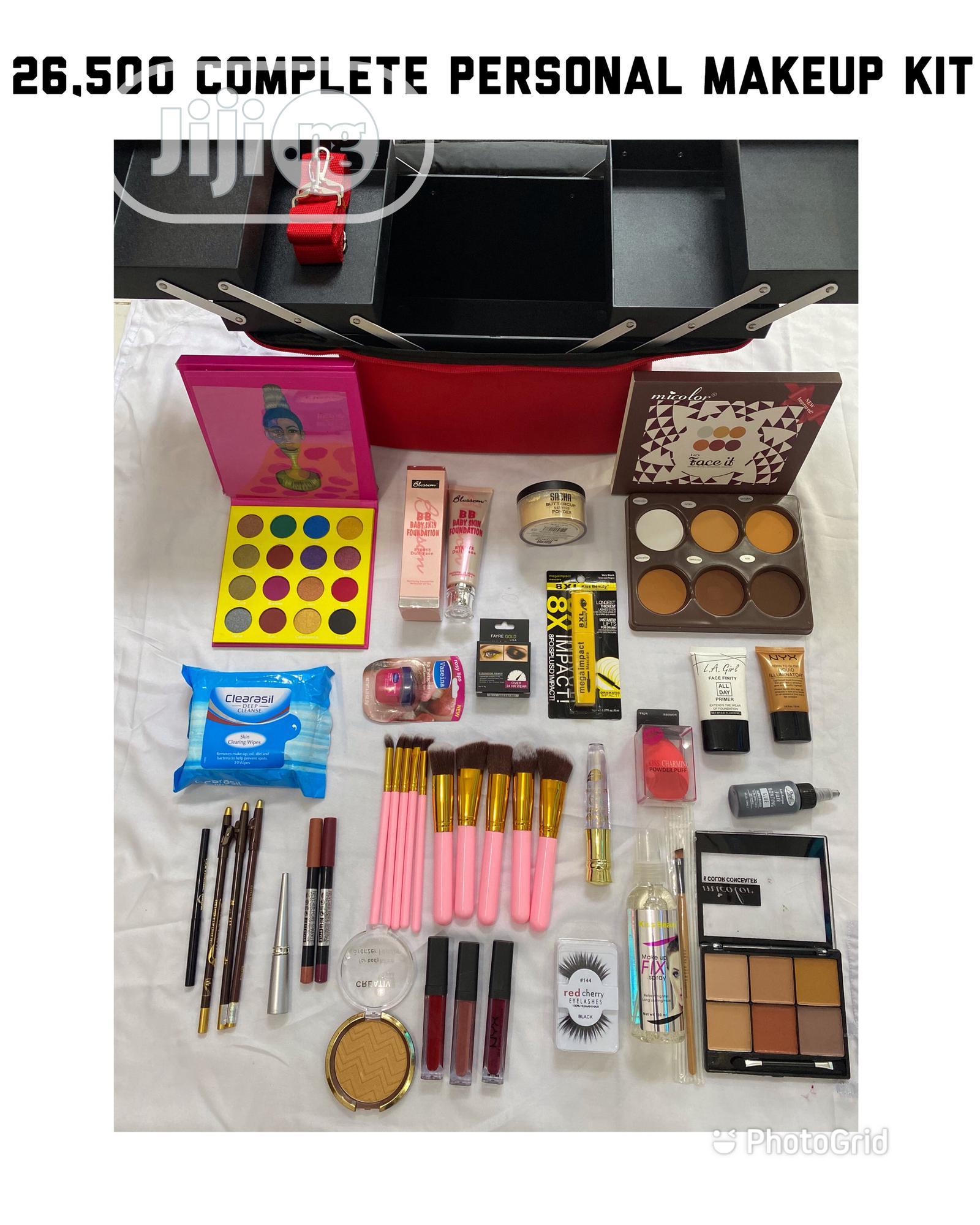 Complete Personal Beginner's Full Makeup KIT