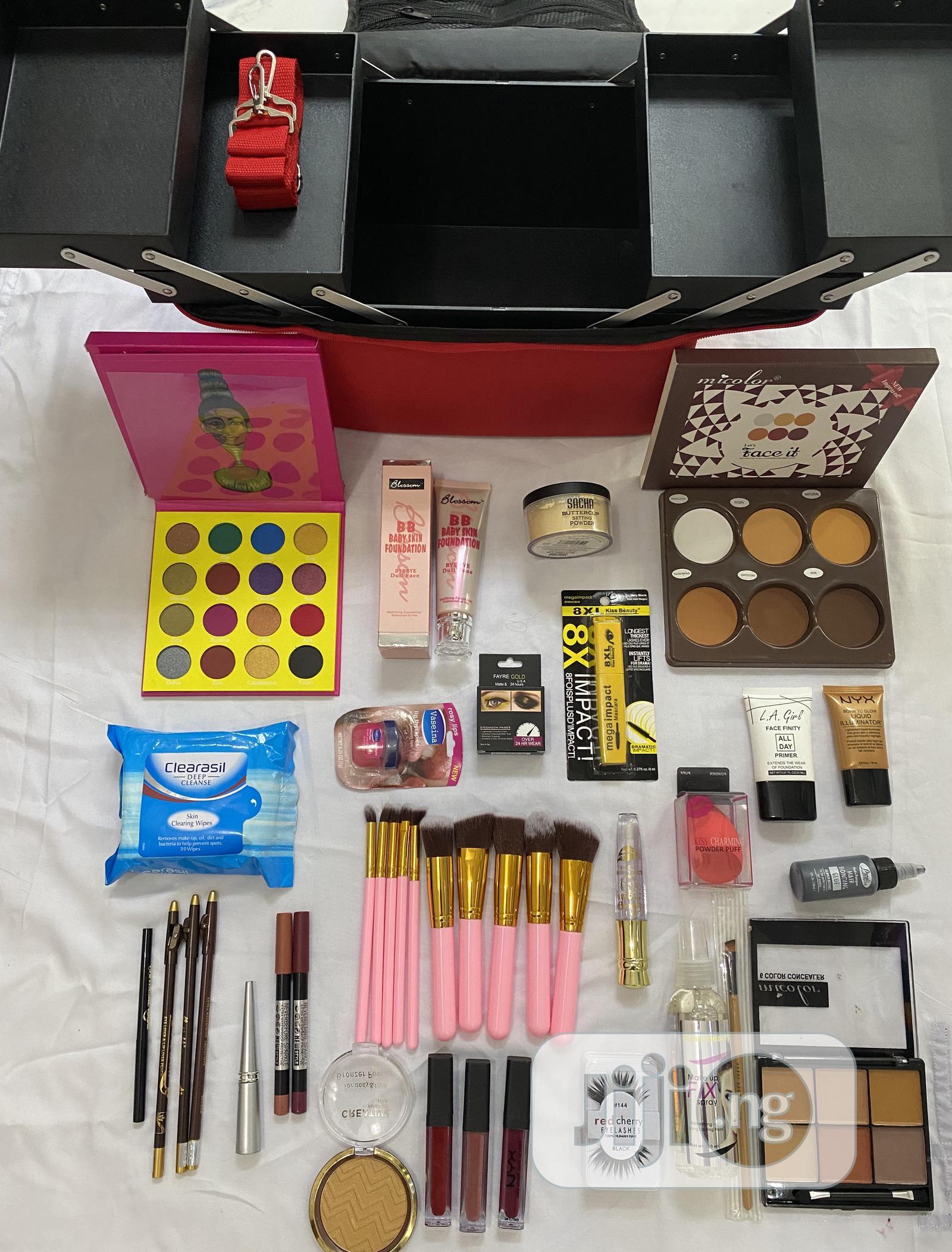 Complete Personal Beginner's Full Makeup KIT | Makeup for sale in Lekki, Lagos State, Nigeria