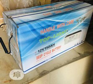 Toplight 150ah 12v Battery | Solar Energy for sale in Lagos State, Ojo