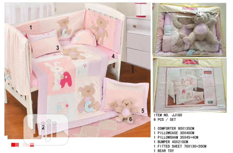 Archive: Settimo Baby Cot 6 Pcs Bedding Sets