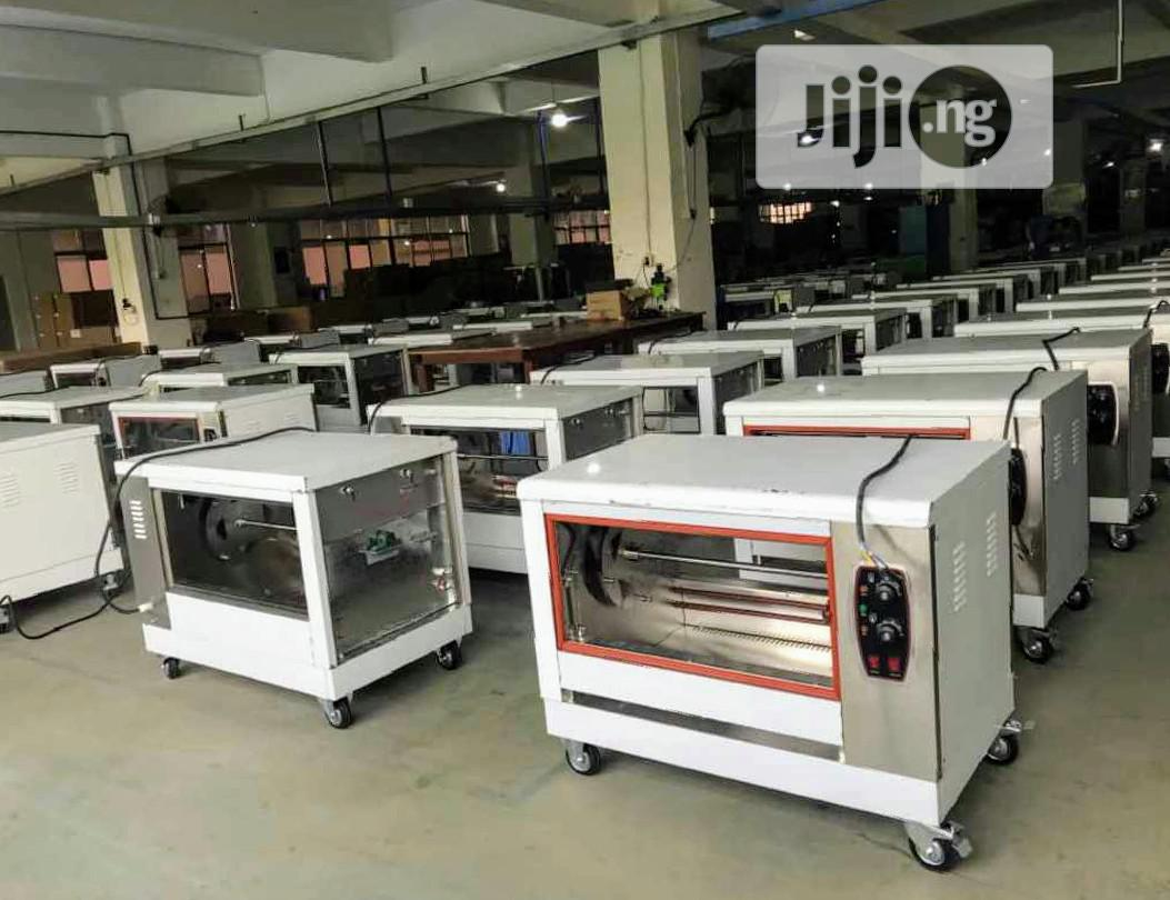 Quality Standard Industrial Electric Chicken Roaster Machine