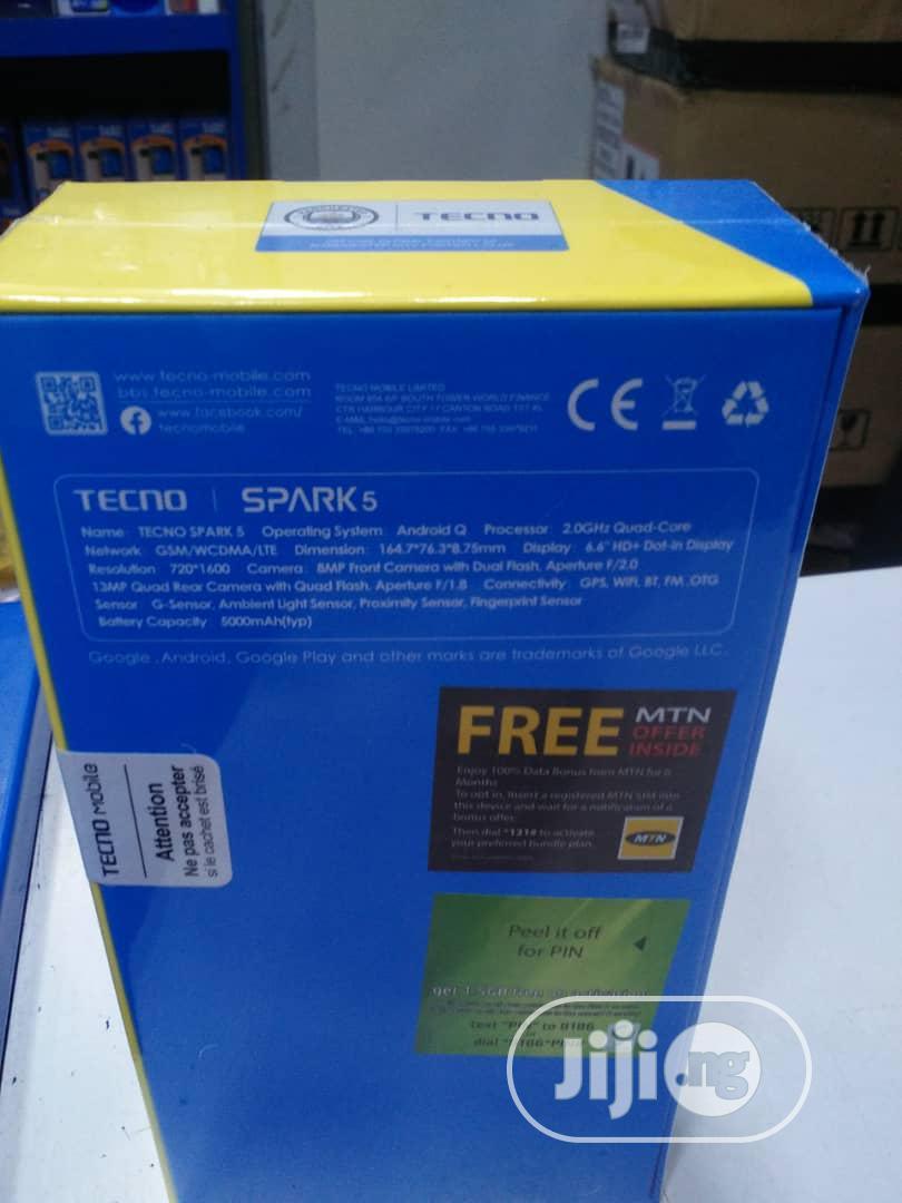 New Tecno Spark 5 32 GB Black | Mobile Phones for sale in Ikeja, Lagos State, Nigeria