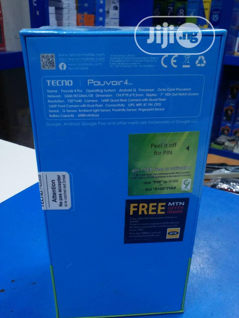 New Tecno Pouvoir 4 Pro 128 GB Black | Mobile Phones for sale in Ikeja, Lagos State, Nigeria