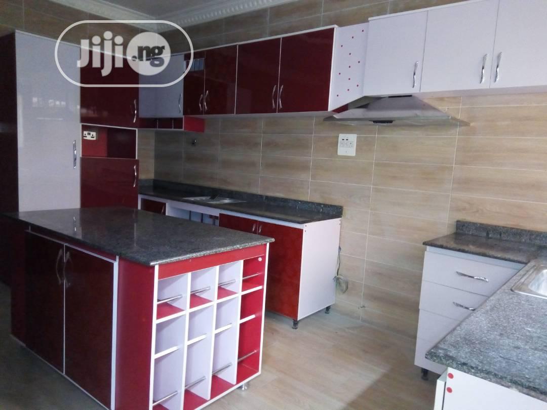 Red Kitchen Cabinets In Ojo Furniture Kingdom Interiors Com Jiji Ng For Sale In Ojo Kingdom Interiors Com On Jiji Ng