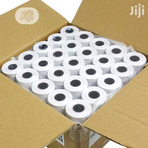Thermal Paper Roll 57 X 38mm 100 Rolls (1 Caton) | Stationery for sale in Lagos State, Ikeja