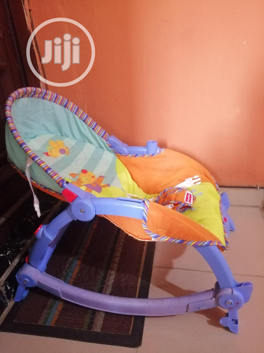 Fisher-price Infant To Toddler Baby Rocker   Children's Gear & Safety for sale in Surulere, Lagos State, Nigeria