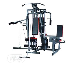 4 Station Home Gym Equipment Multi Gym Trainer   Sports Equipment for sale in Lagos State, Surulere