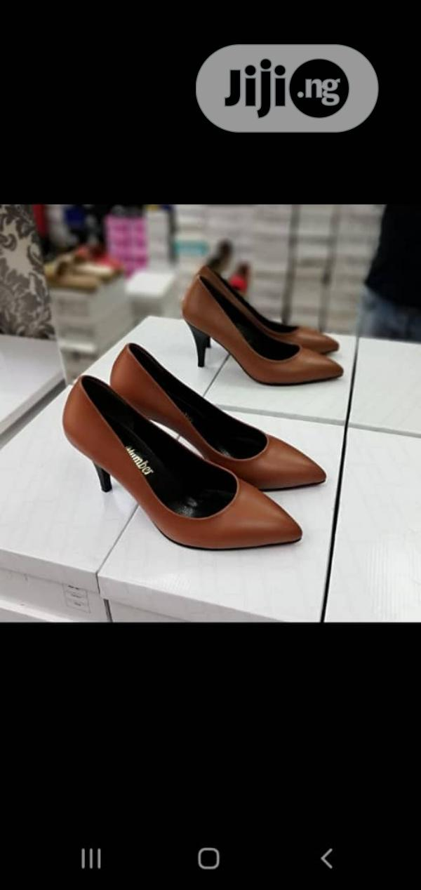 New Quality Female Turkey Brown Shoes