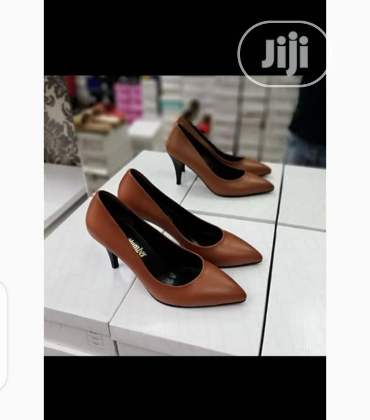 New Quality Female Turkey Brown Shoes | Shoes for sale in Isolo, Lagos State, Nigeria