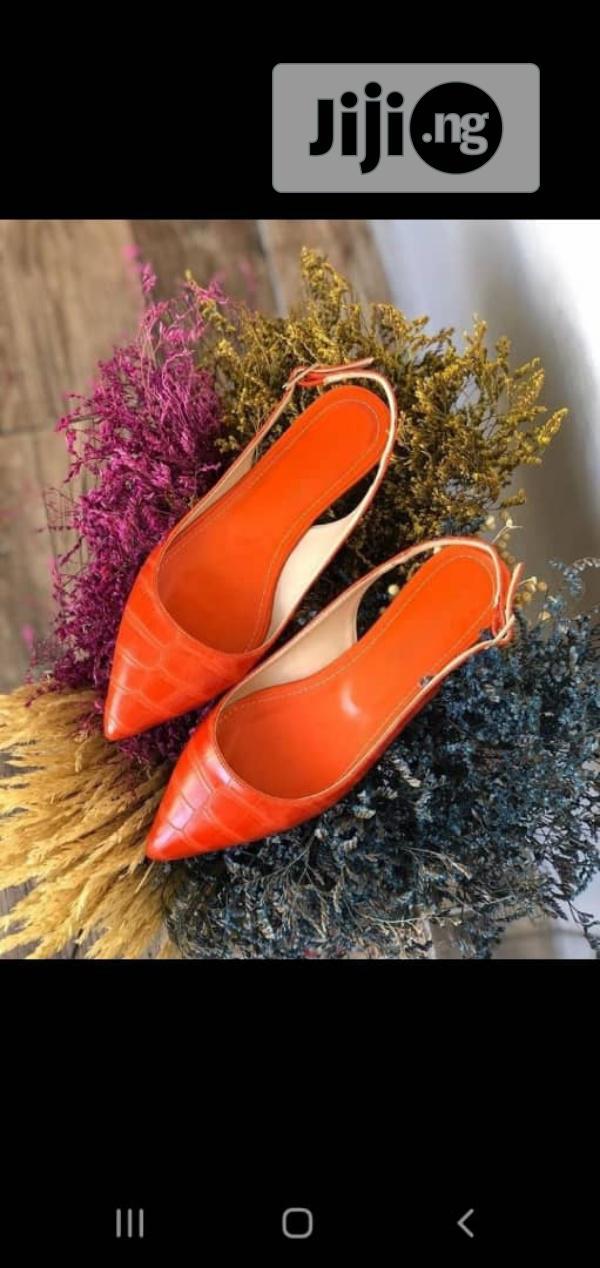 New Quality Turkey Female Orange Shoes