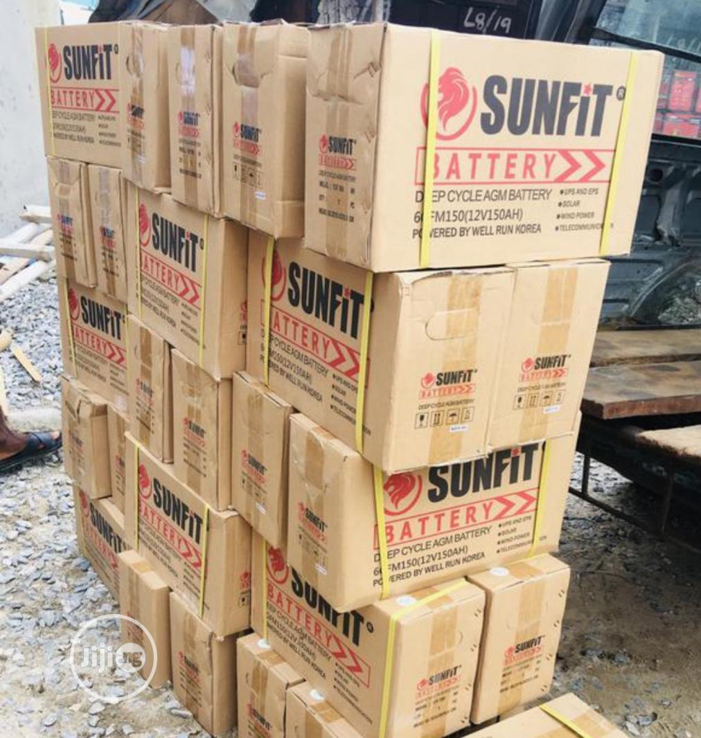 Sunfit 150ah 12v Battery