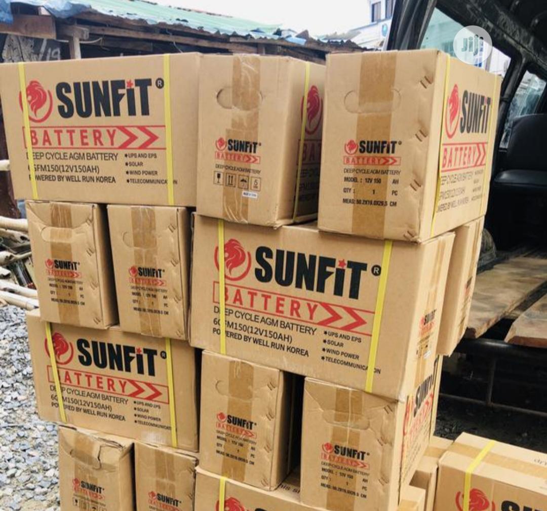150ah 12v Sunfit Battery