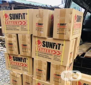 150ah 12v Sunfit Battery   Solar Energy for sale in Lagos State, Ojo