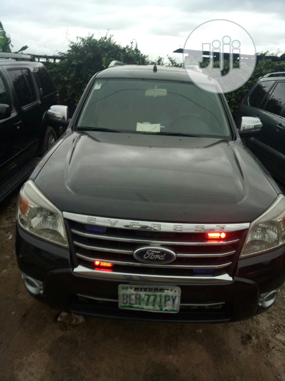 Ford Everest 2010 Black In Port Harcourt Cars Chukwueke Ify Jiji Ng