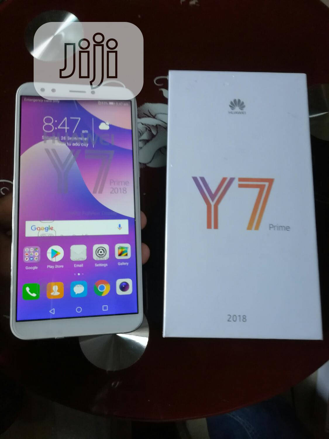 New Huawei Y7 Prime 32 GB Gold