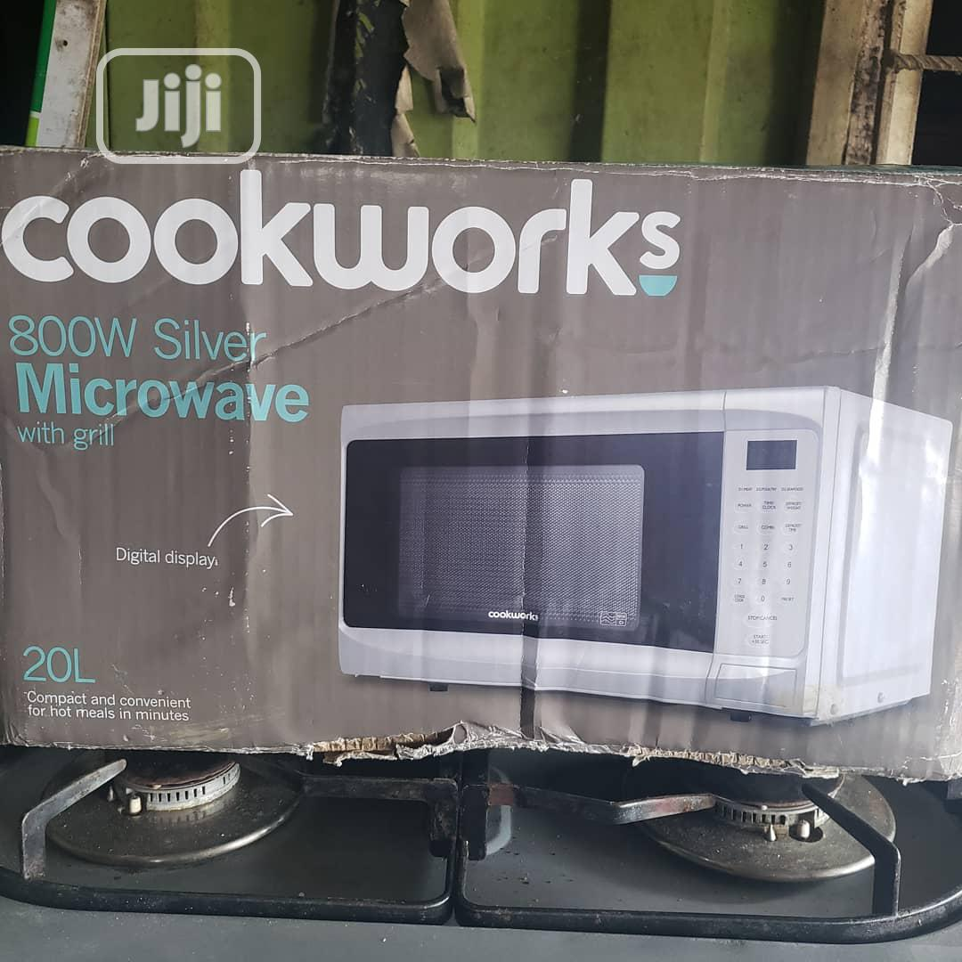 Archive: Cookworks Microwave With Grill