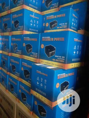 26A 12v Maximum Power Battery   Solar Energy for sale in Lagos State, Badagry