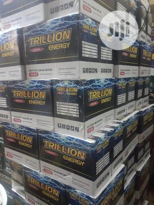 120A 12v Trillon Battery   Solar Energy for sale in Lagos State, Badagry