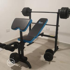 Weight Bench With 50kg | Sports Equipment for sale in Lagos State, Surulere