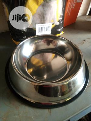 Stainless Steel Feeding Bowl | Pet's Accessories for sale in Abuja (FCT) State, Utako