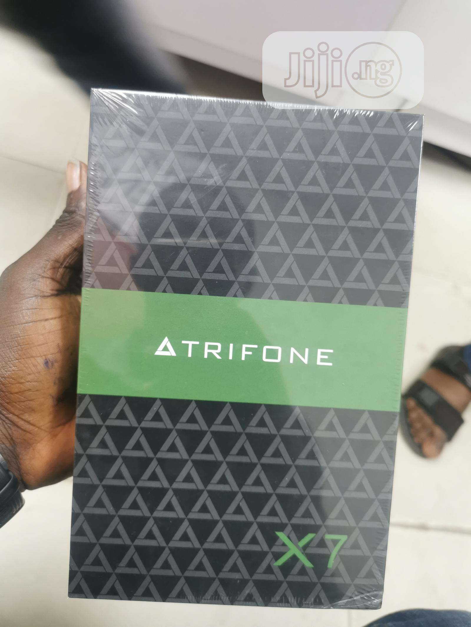 New Trifone X7 16 GB Black | Tablets for sale in Ikeja, Lagos State, Nigeria
